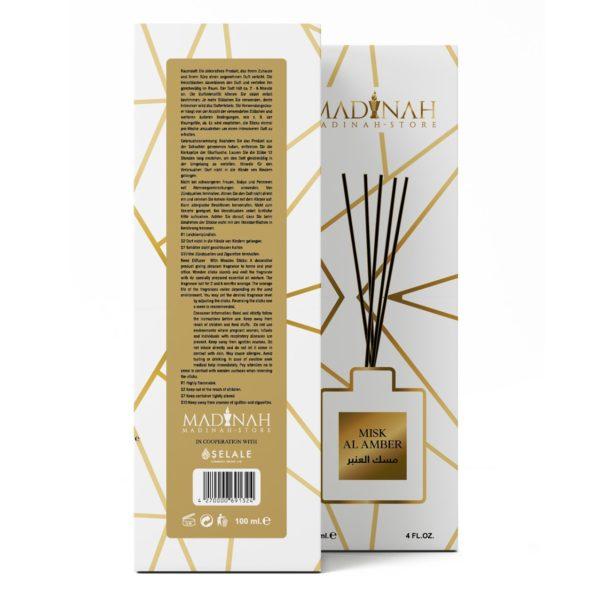 misk-i amber bamboo box back